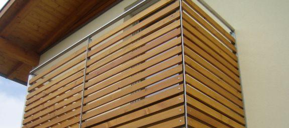 Balkon   Holzbau Vieider Karl   Steinegg   Südtirol