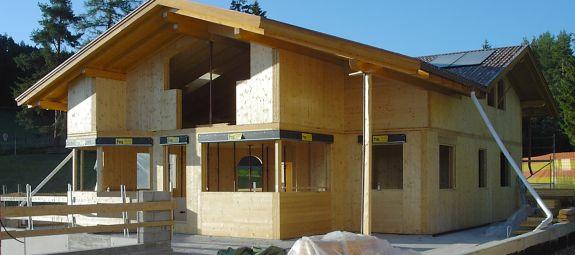 Holzhaus   Holzbau Vieider Karl   Steinegg   Südtirol